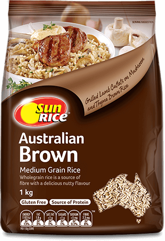 Brown Medium Grain 1Kg Png Transparent