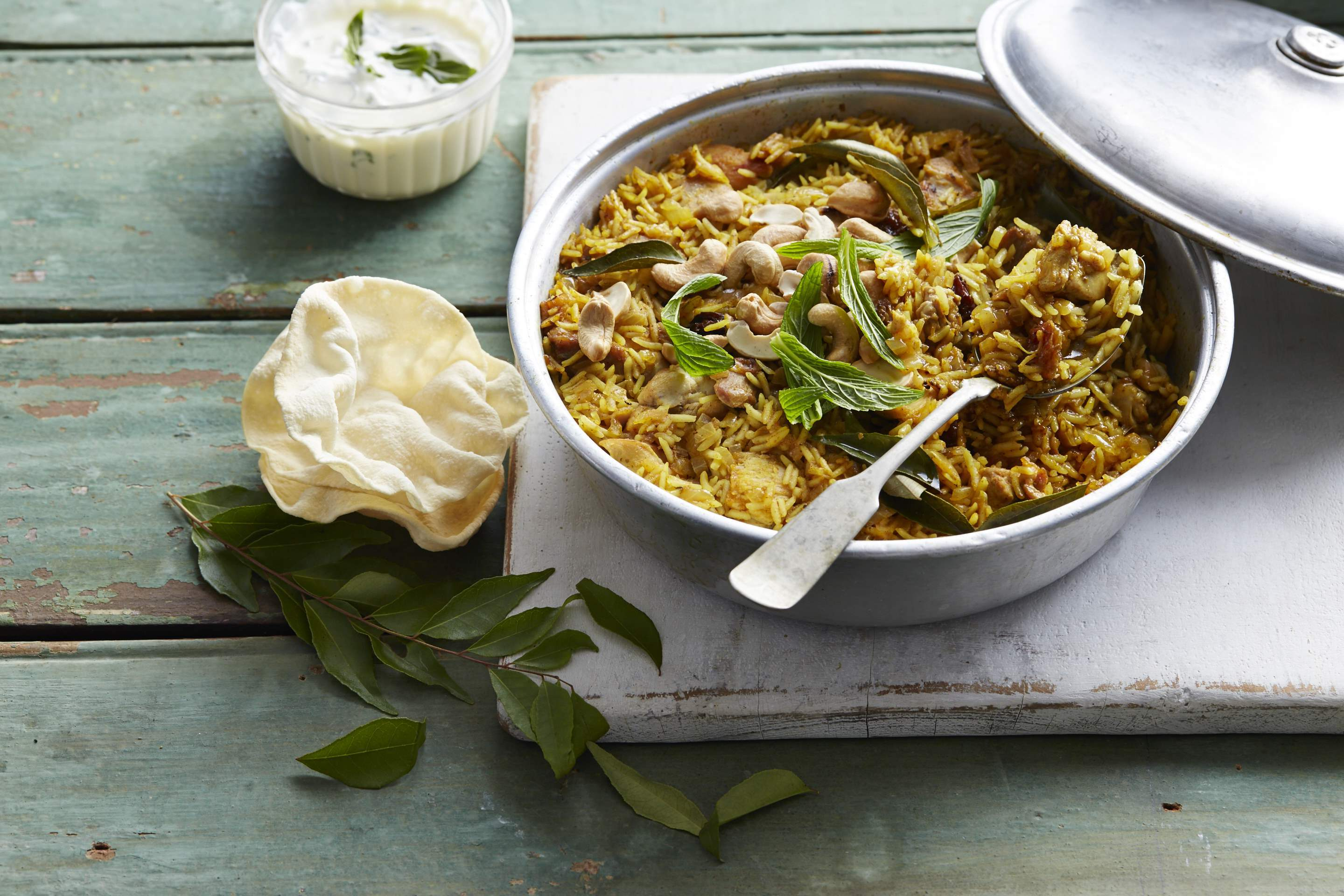 Chicken & Cashew Nut Biryani