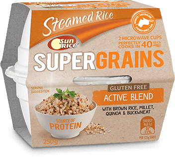 Super Grains Active Blend Mw 250G Png Transparent