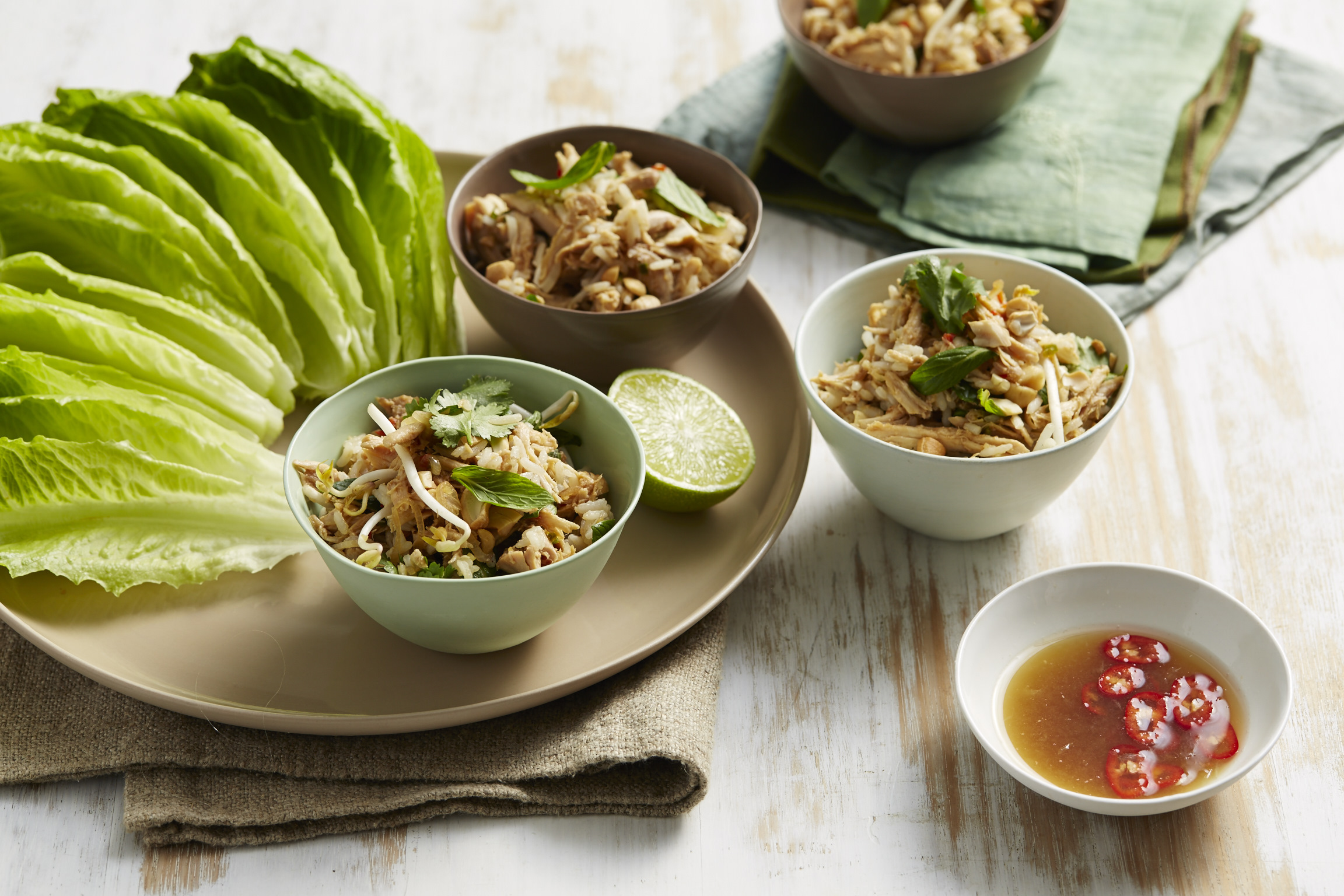 Thai Chicken And Rice Larb 01