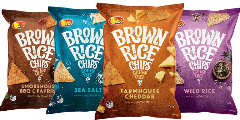 Brown Rice Chips Family 4x skus v2
