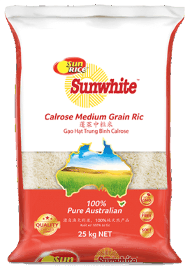 Calrose Medium Grain 25Kg Png Transparent
