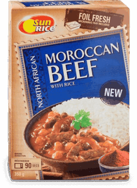 Morrocan Beef With Rice