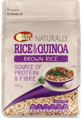 Sunrice Brown Rice Quinoa 750G