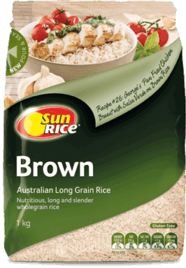 Sunrice Long Grain Brown Rice 1Kg