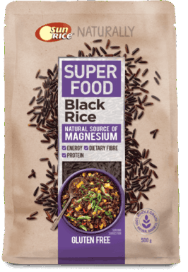 Sunrice Superfoods Black Rice 500G