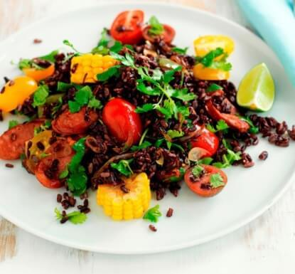 Black Rice Mex Salad