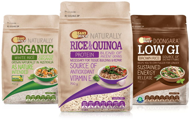 Healthy Rice Blends