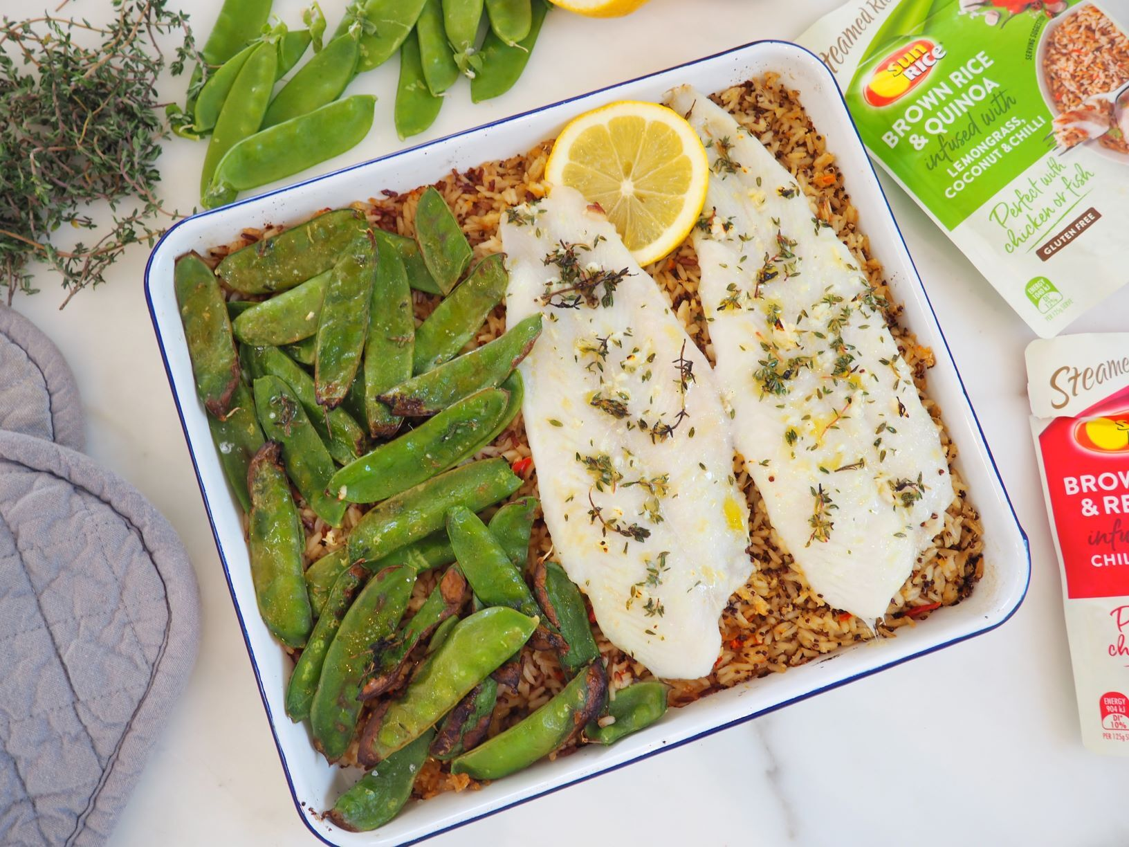 One tray lemon fish website